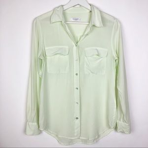 Equipment Femme silk button up